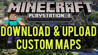 how to download and install custom maps minecraft
