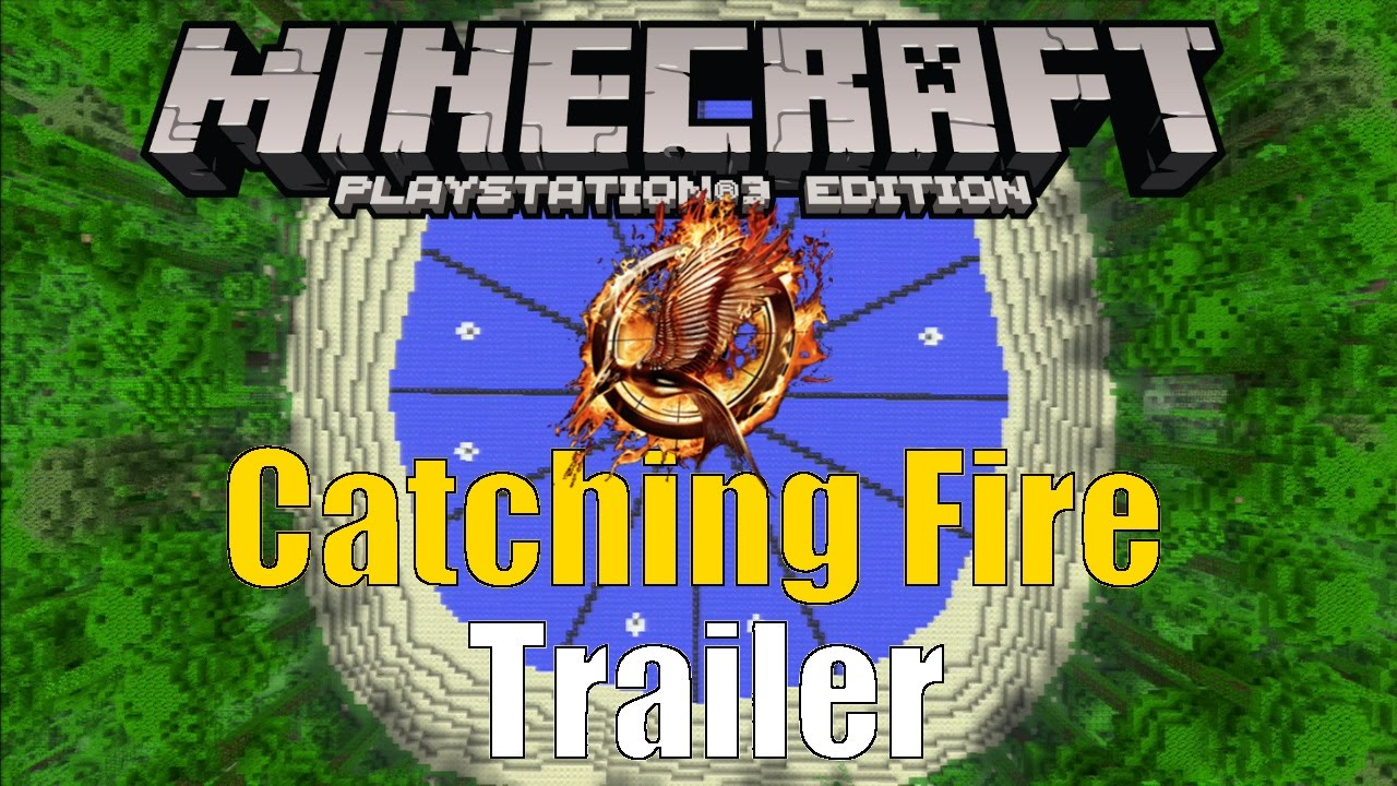 Minecraft PS3: Catching Fire Hunger Games Map
