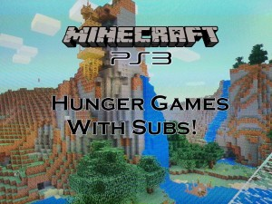 Minecraft PS3: Hunger Games Map Download