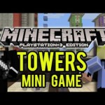 Minecraft PS3: Towers Player vs Player Mini-Game