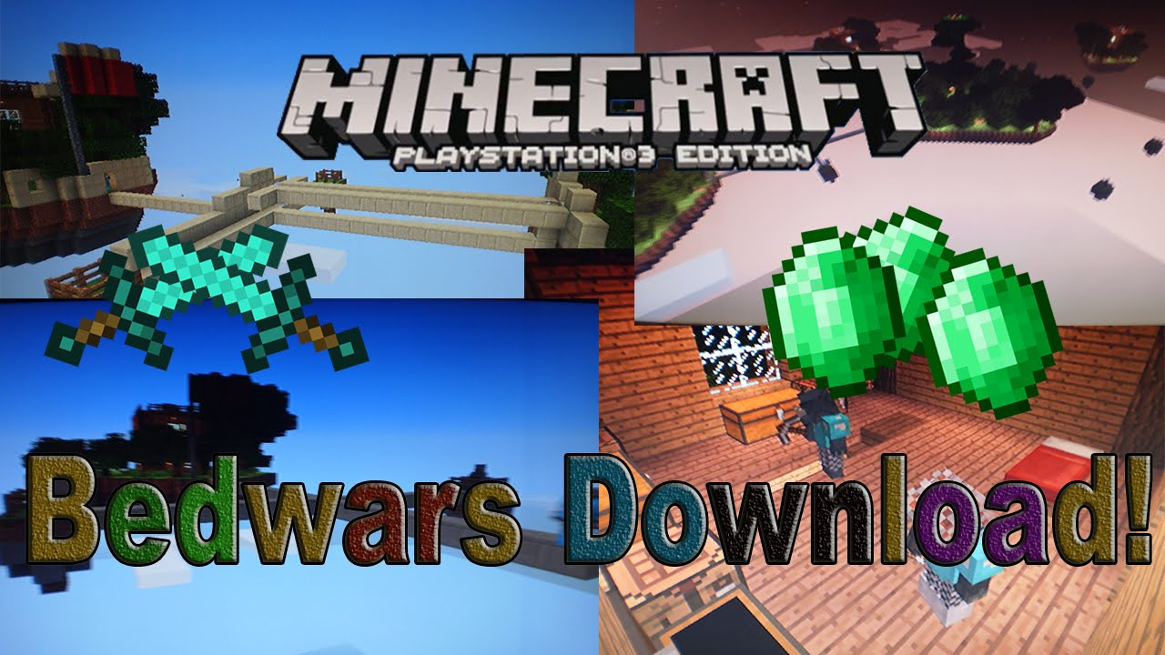 Minecraft PS PS Bed Wars - Minecraft bedwars spielen ps4
