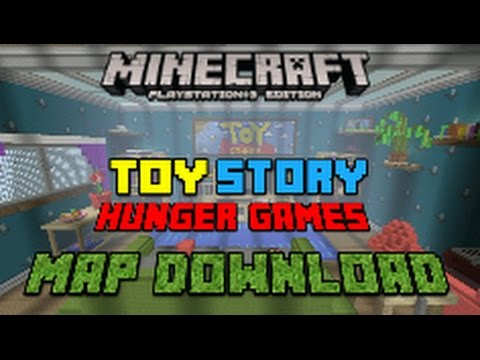 Minecraft PS3 PS4: Toy Story 2 Hunger Games