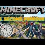 Minecraft PS3 PS4: 15 Second Parkour Map
