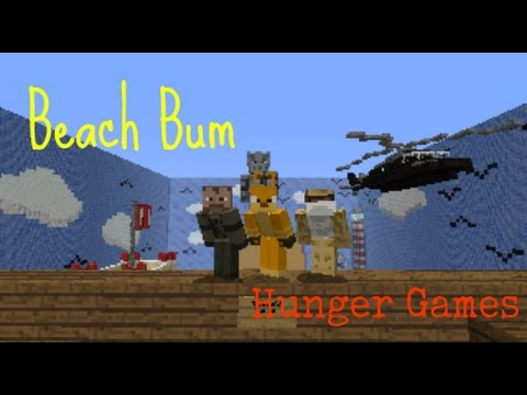 Beachbum hungergames minecraft ps3 ps4 map download publicscrutiny Choice Image