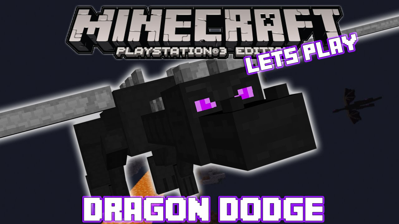 Minecraft Ps3 Ps4 Dragon Dodge Map Download