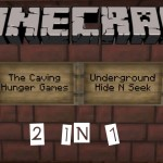 Underground Hide N Seek and The Caving Hunger Games (Minecraft PS3 PS4 Map Download)