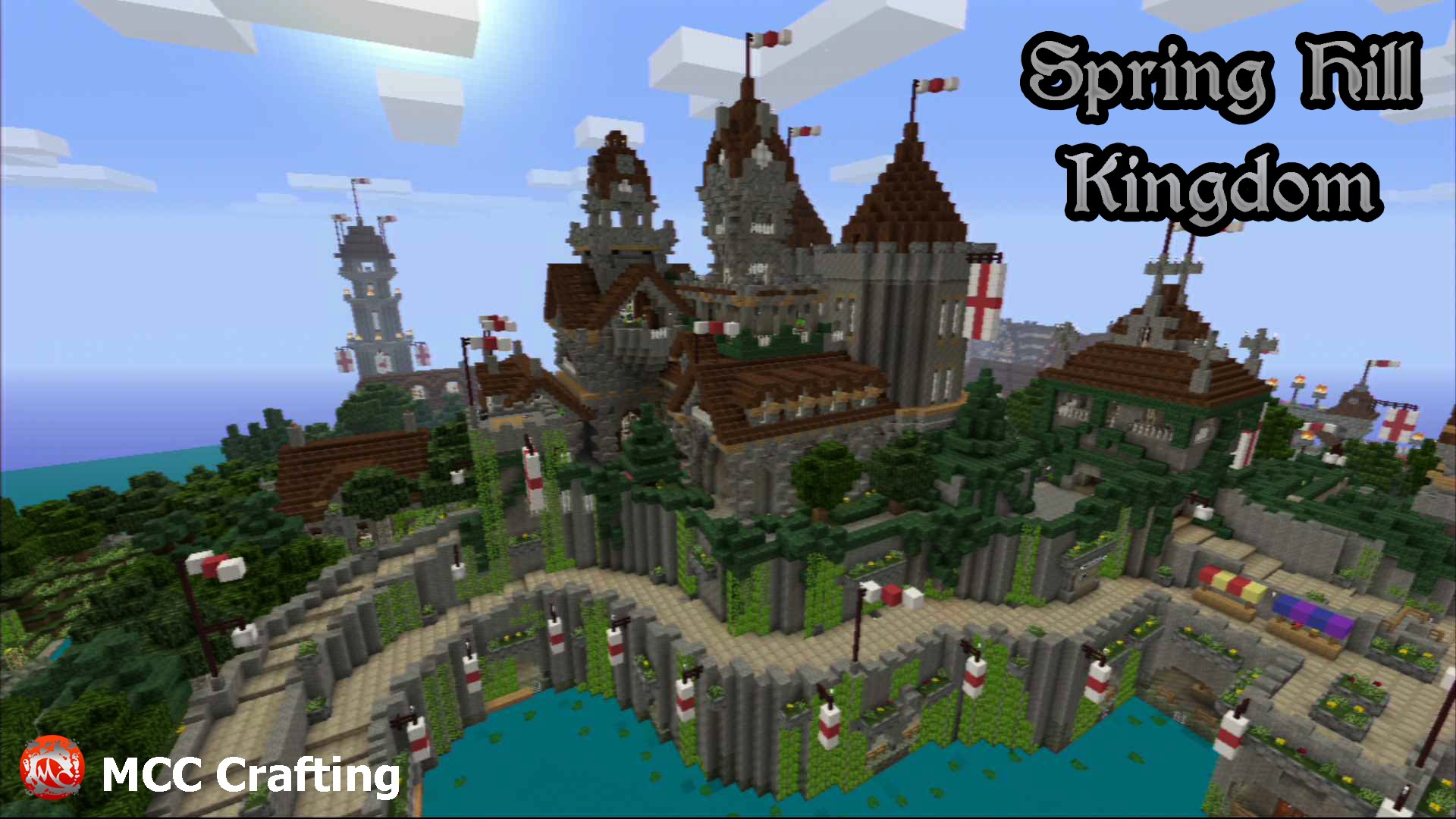 Minecraft PS3 Spring Hill Kingdom Download