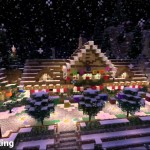 Minecraft PS3: North Pole Christmas Wonderland Download
