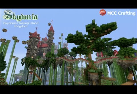 Minecraft Floating Island Map Ps