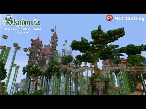 Minecraft ps3 skydonia floating island medieval castle download sciox Choice Image