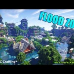 Minecraft PS3: Flood Zone Water World Disaster City Download