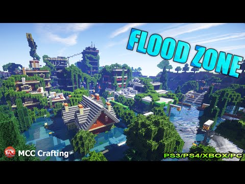 Minecraft ps3 flood zone water world disaster city download gumiabroncs Image collections