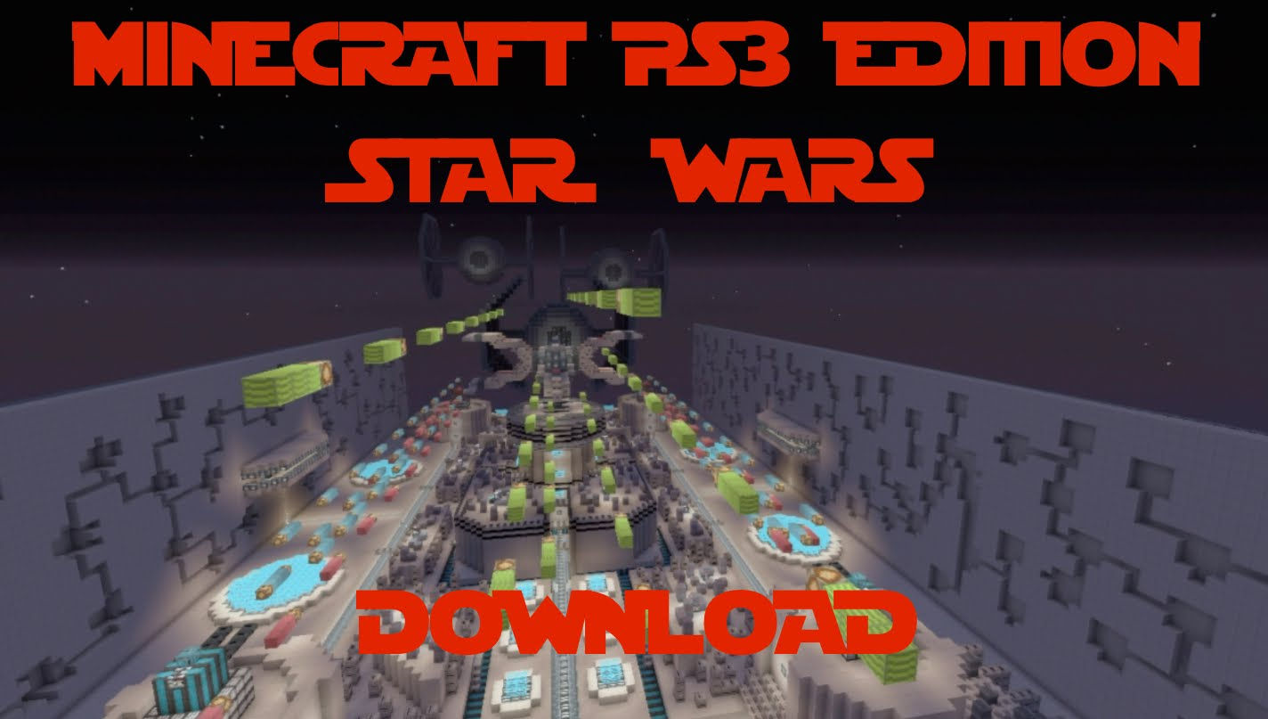 Minecraft PS3: Star Wars Ship Map Download