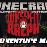 Minecraft PS3: Wreck It Ralph Adventure Map Download