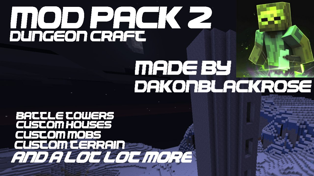 Minecraft: PS3/PS4/PC DungeonCraft Mod Pack Map Download
