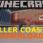Minecraft: PS3/PS4 Epic Rollercoaster Map Download