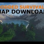 Minecraft: PS3/PS4 Modded Survival Map W/Download