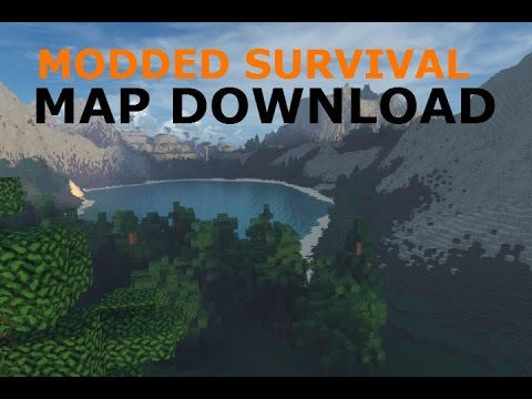 Minecraft ps3ps4 modded survival map wdownload gumiabroncs Gallery
