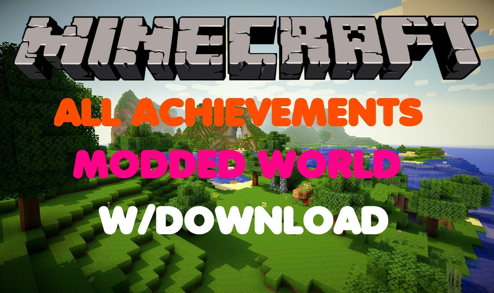 Minecraft ps3ps4 all achievements modded world wdownload category archive minecraft pc to ps4 map download gumiabroncs Image collections