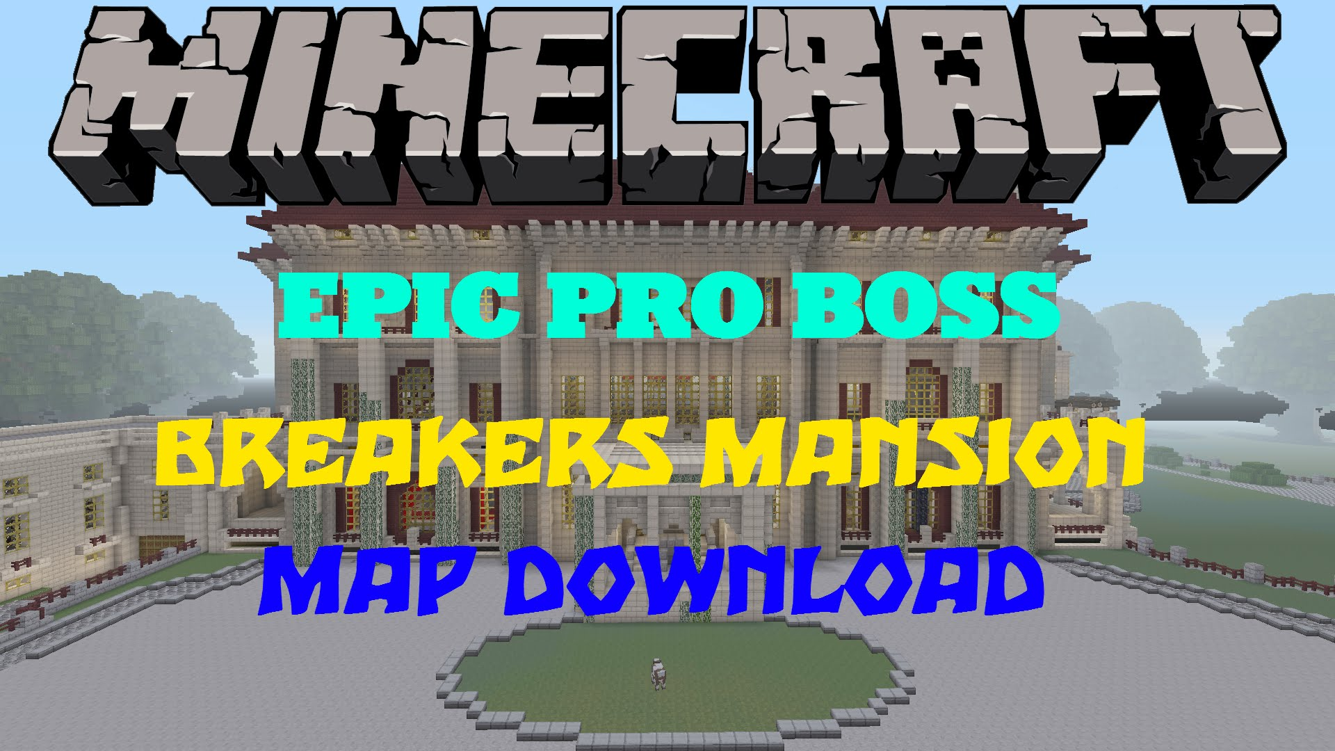 Minecraft PSPS Massive Modern House Map WDownload - Coole maps fur minecraft zum downloaden