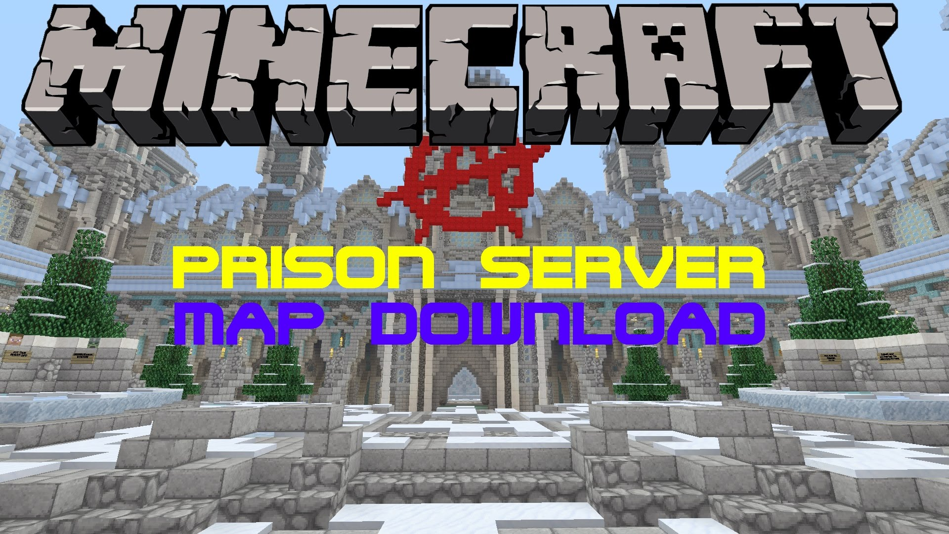 minecraft ps3  ps4 frozen prison server map w  download