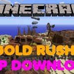 Minecraft PS3/PS4 Gold Rush Map Showcase W/Download