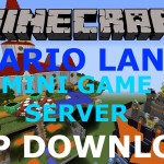 Minecraft PS3/PS4 Mario Land Mini Game Server Map W/Download