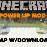Minecraft PS3/PS4 Power Up Mod Showcase W/Download