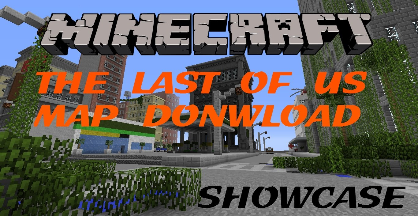 Minecraft PS3/PS4 The Last Of Us Survival Map Download