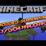 Minecraft PS3/PS4 Modded Survival Map W/Download – Sky Island Challenge
