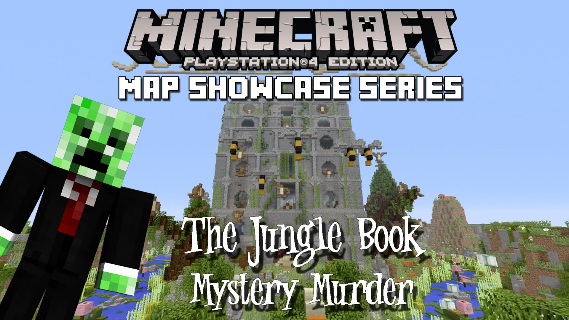 Minecraft PSPS Murder Mystery Server Map Download - Minecraft ps3 auf pc spielen
