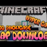 Minecraft PS3/PS4 Modded Map Download Hyper Carts Mod Showcase