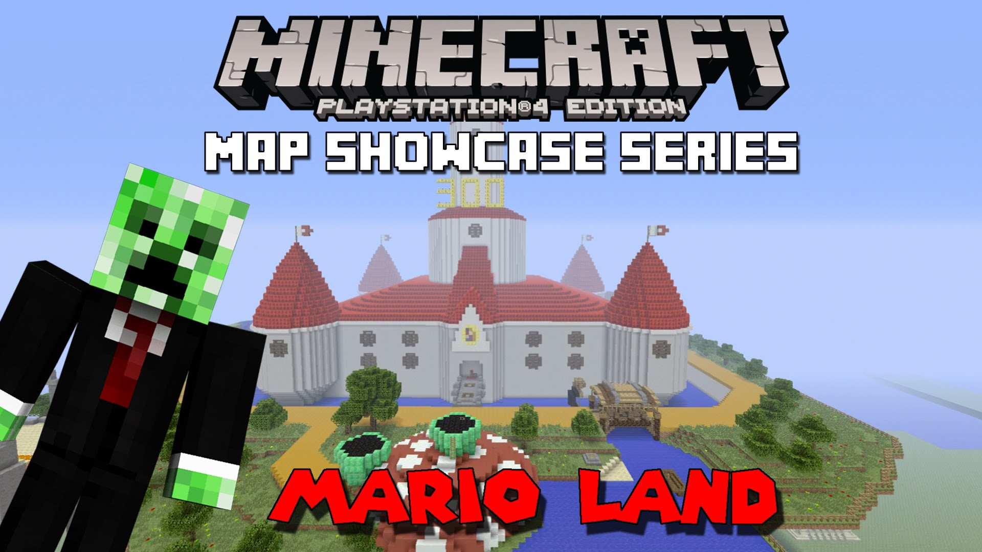 Minecraft PS3 Maps: Mario Land Map Download