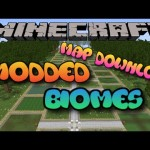 Minecraft PS3/PS4 Mo's Biomes Modded Map Showcase W/Download