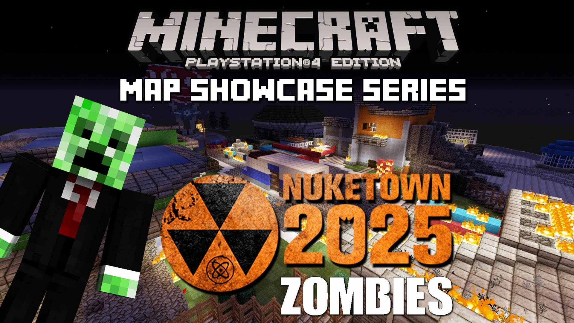 Minecraft PS3 Nuketown 2025 Zombies Map Download