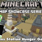Minecraft PS3: Trains Station Hunger Games Map Download