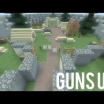Minecraft PS3: Guns Up! [Kit PVP Map] – Download