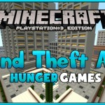 Minecraft PS3 Modded GTA Grand Theft Auto Map Download