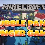 Minecraft PS3 Bubble Panic Hunger Games