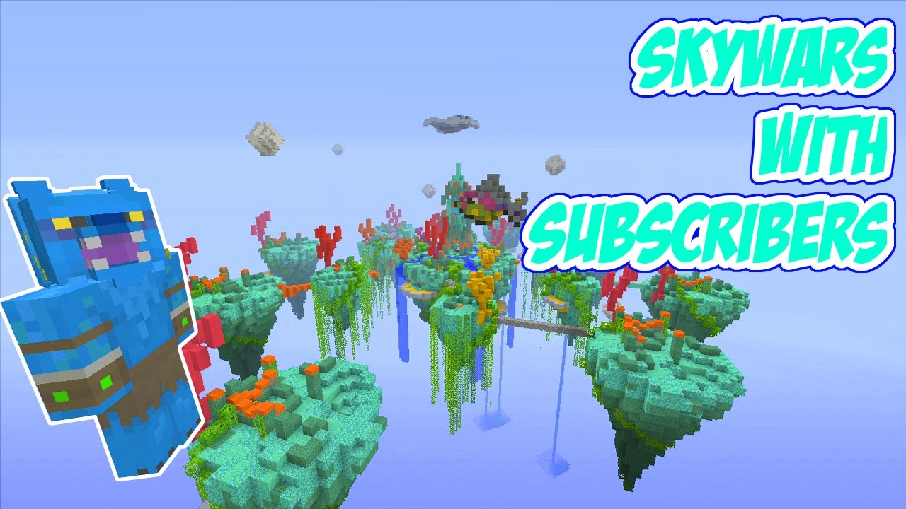 Minecraft PSPS MODDED SKYWARS SERVER MAP WDOWNLOAD - Minecraft ps3 spiele