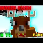 Minecraft PS3 Reindeer Rush Parkour Download
