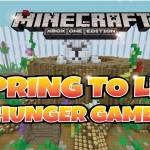 Minecraft PS3 Spring to Life Hunger Games