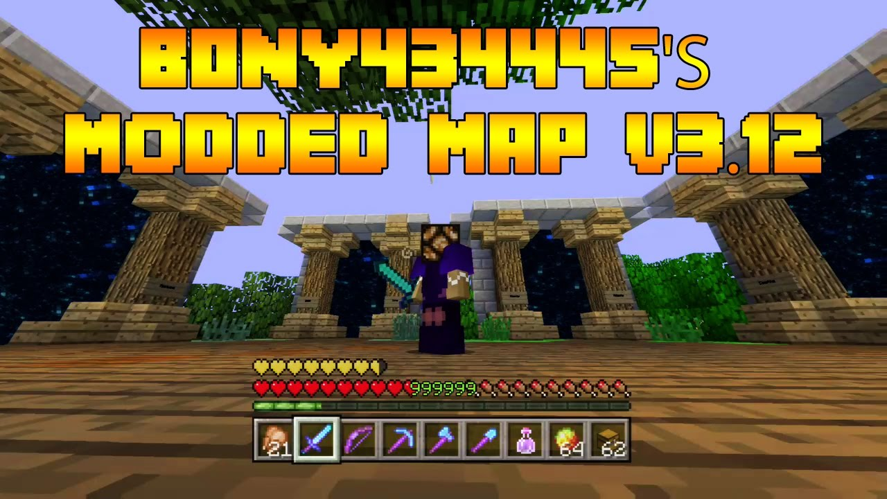 minecraft modded items world ps3 download