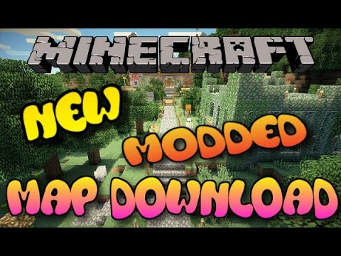 Minecraft PS3/PS4 Modded Adventure Map W/DOWNLOAD