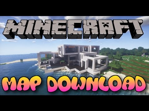 Minecraft PS3/PS4 Massive Modern House Map W/Download
