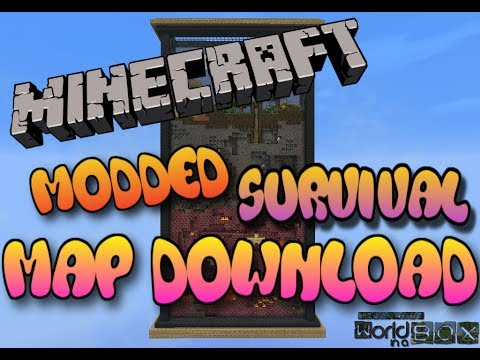 Minecraft PS3/PS4 Modded Map Download